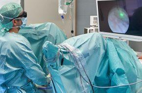 Operation bei gutartiger Prostatavergrößerung mit topmoderner Lasertechnologie